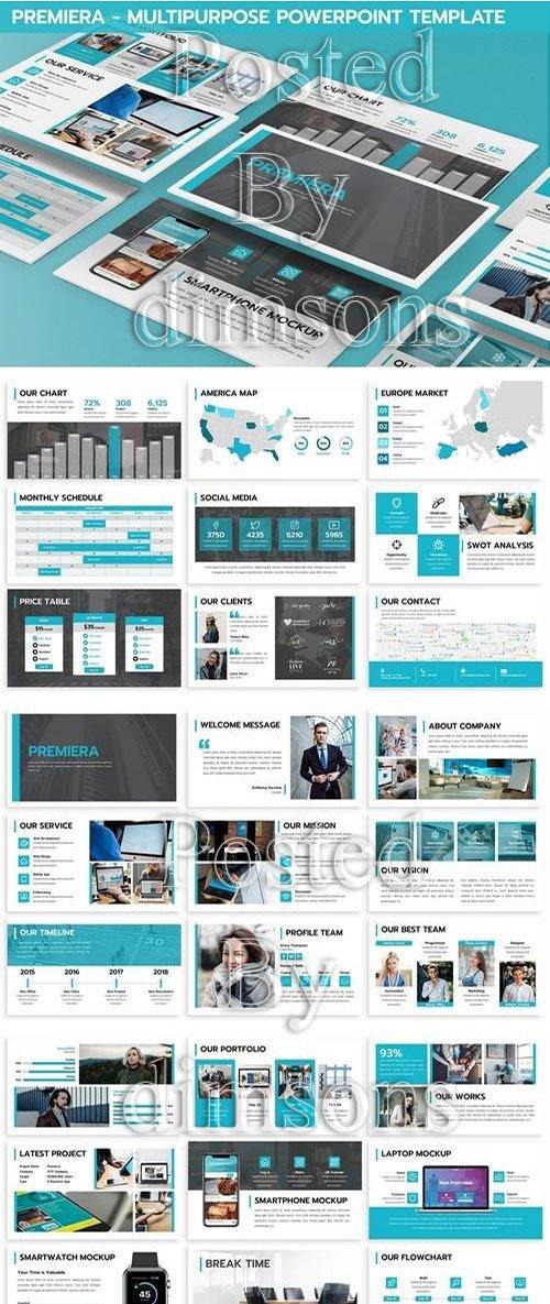 Premiera - Multipurpose Powerpoint Template