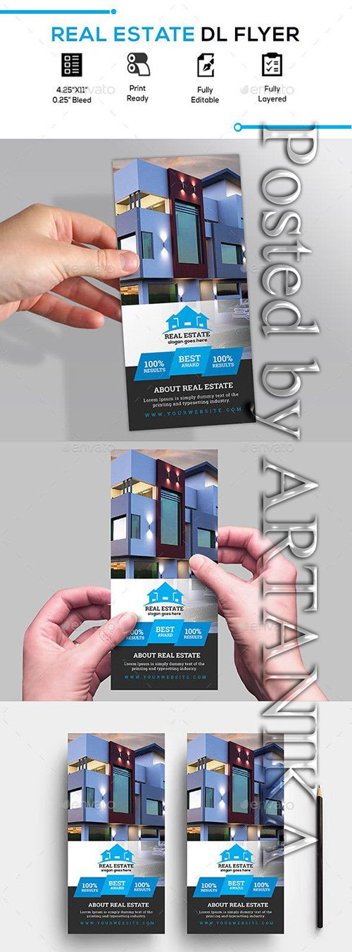 GraphicRiver - Real Estate Dl Flyer 23165454