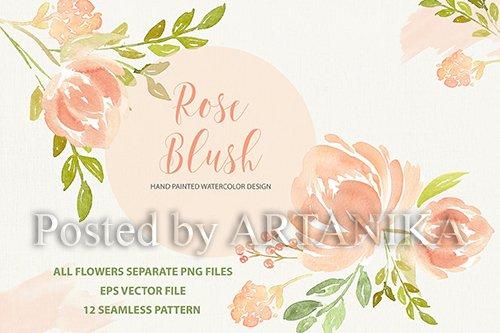 Rose Blush design