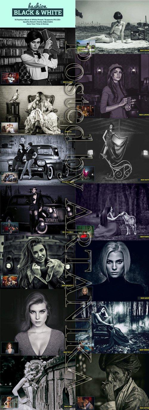 GraphicRiver - Fashion Black & White 23220752