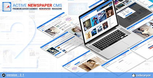 CodeCanyon - Active Newspaper CMS v2.1 - 20838501 - NULLED