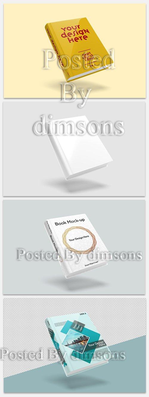 PSDT Book Cover Mockup 247662599
