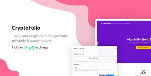 CodeCanyon - CryptoFolio v1.0 - Cryptocurrency Portfolio Tracker & Exchange - 21321630