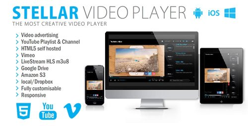CodeCanyon - Stellar Video Player v1.4 - 20927060