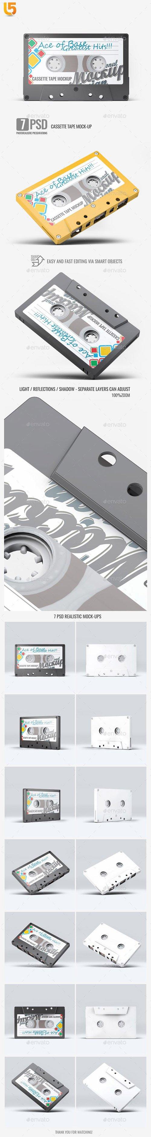 Cassette Tape Mock-Up 23225053