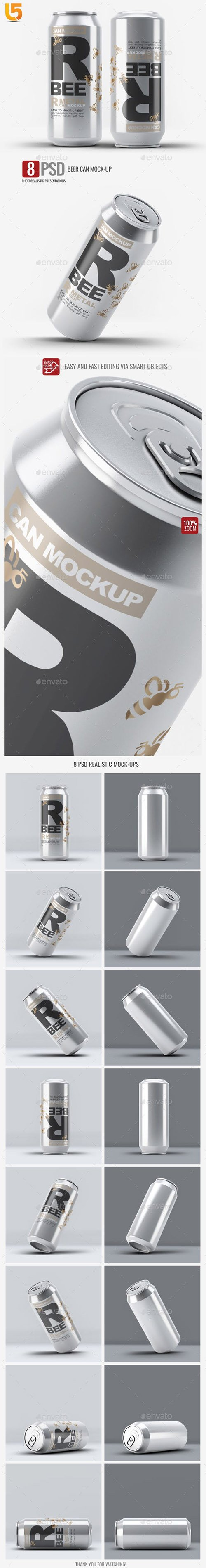 Beer Can Mock-Up 23224554