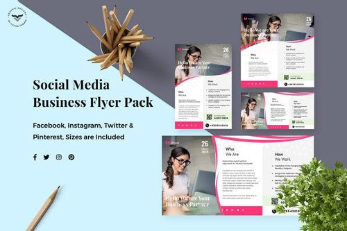 Business Social Media Template - 5JQ7A8