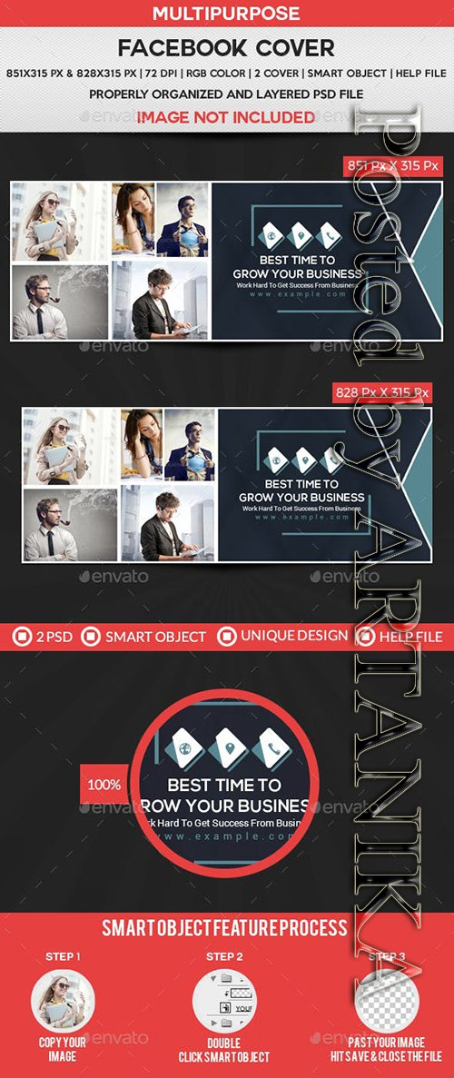 GraphicRiver - Facebook Cover 21885111