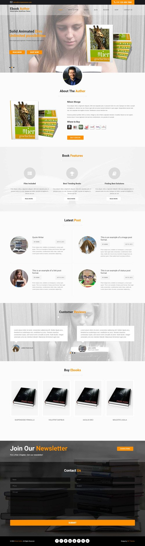 SKT Themes - Launch Pro v1.0 - Responsive WordPress Theme