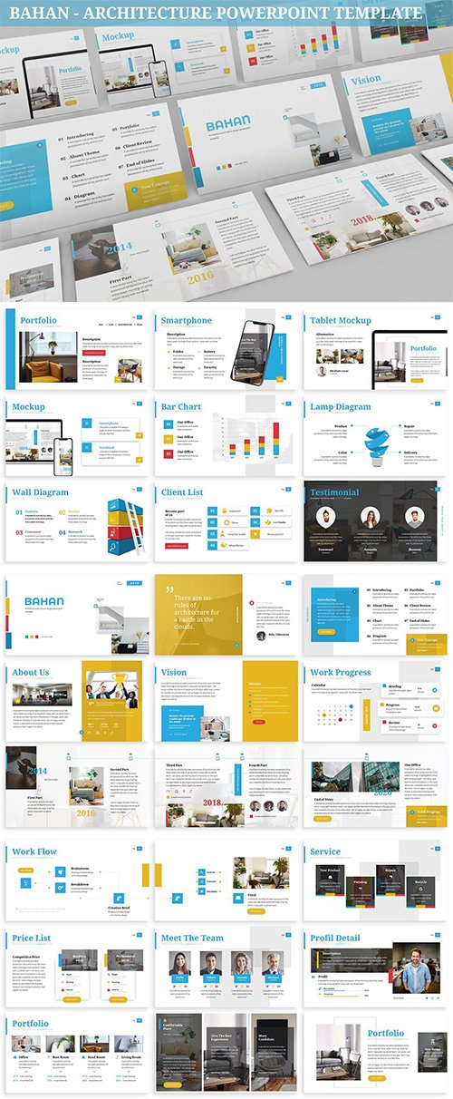 Bahan - Architecture Powerpoint Template