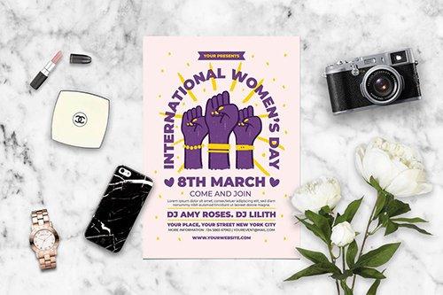 International Women Day PSD