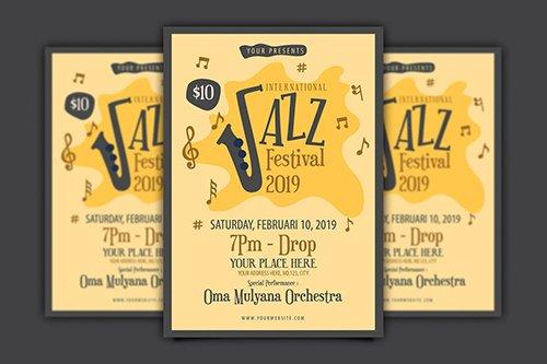 International Jazz Festival Flyer PSD