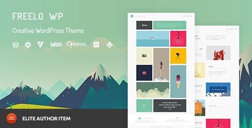 ThemeForest - Freelo WP v1.8 - Creative WordPress Portfolio Theme - 14348790
