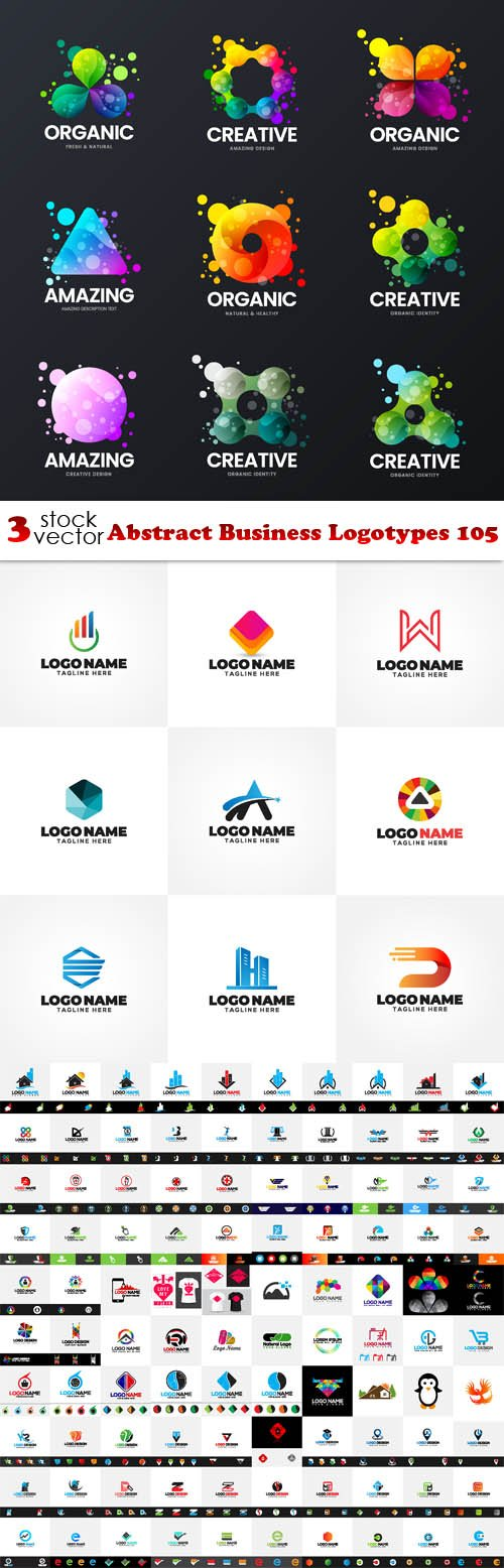 Vectors - Abstract Business Logotypes 105