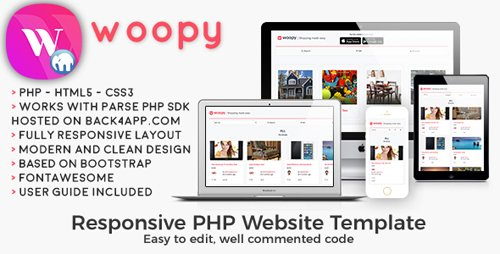 CodeCanyon - woopy - PHP Listings + Chat Web Template (Update: 18 December 2018) - 20990740