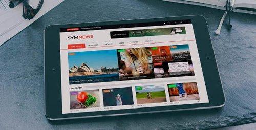 ThemeForest - SymNews v1.2 - News & Magazine Drupal 8 Theme - 20809648