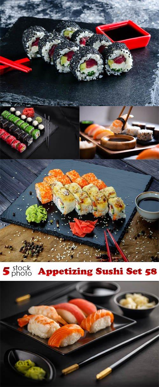 Photos - Appetizing Sushi Set 58