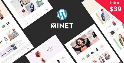 ThemeForest - Minet v1.6 - Minimalist eCommerce WordPress Theme - 20908707