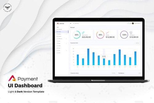 Payment Admin Dashboard UI Kit