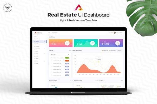 Real Estate Admin Dashboard UI Kit
