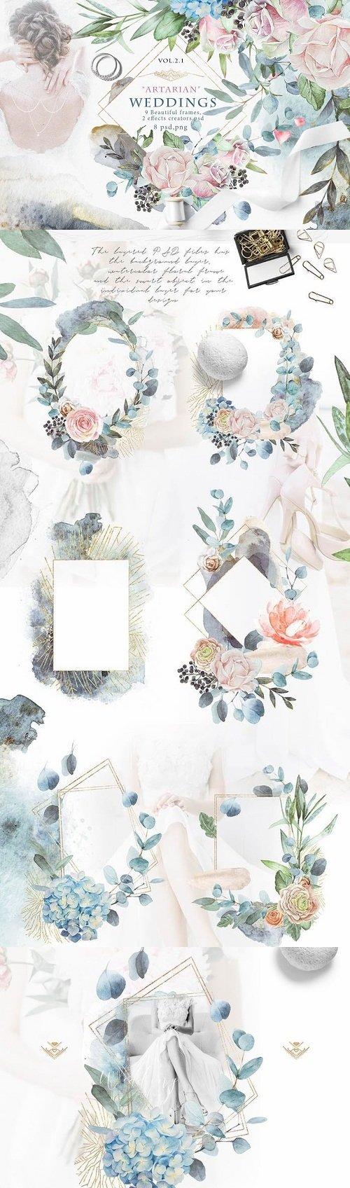 "Wedding frames ""ARTARIAN"" vol.2.1"