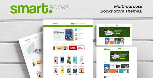 ThemeForest - SmartBook v1.0 - OpenCart Theme (Included Color Swatches) - 23201048