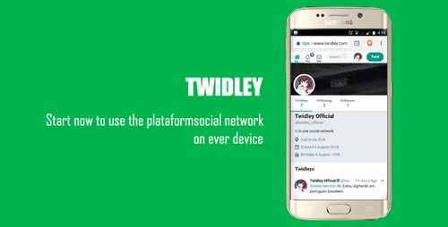 CodeCanyon - Twidley v2.0.1 - The Pro Social Network - 22429184 - NULLED