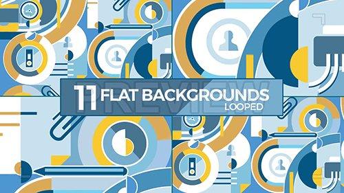 MA - Flat Corporate Animated Background 137354