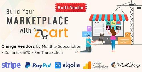 CodeCanyon - zCart v1 1 2 - Multi-Vendor eCommerce Marketplace