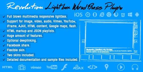 CodeCanyon - Revolution Lightbox v1.2 - Wordpress Plugin - 18451521