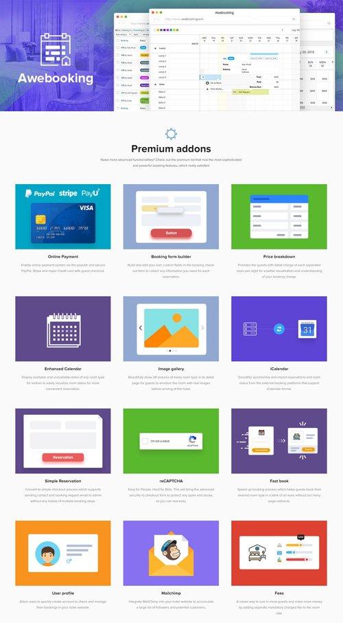 AweBooking v3.2.6 - Online Hotel Booking Plugin + Premium AweBooking Add-Ons