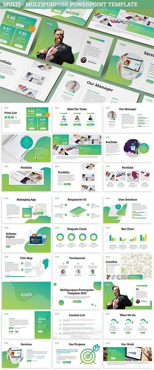 Multi - Multipurpose Powerpoint Template