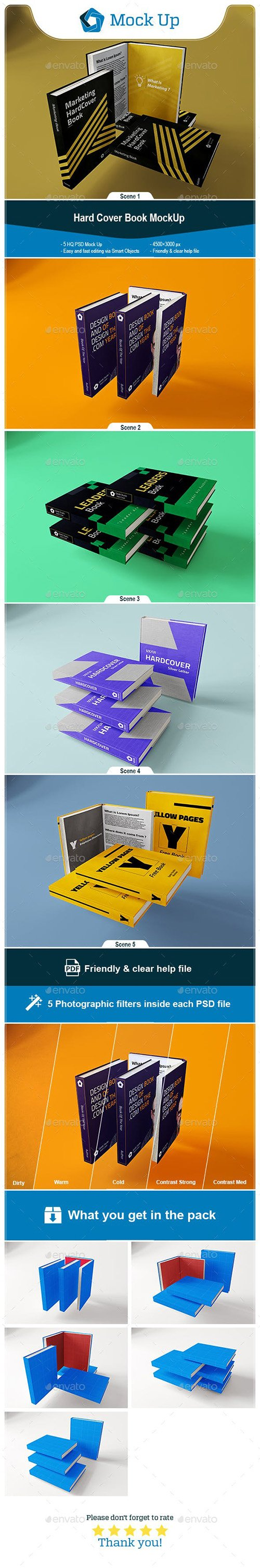 Hard Cover Book MockUp 23273705