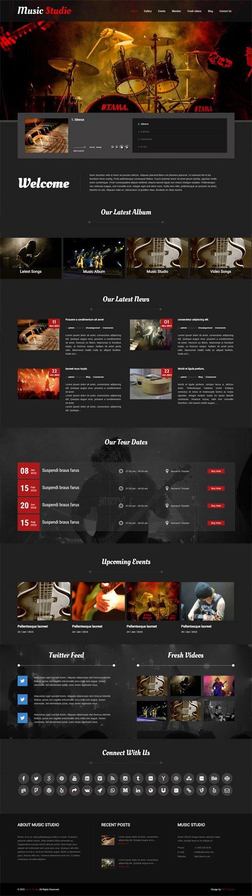 SKT Themes - Melody v1.0 - Responsive WordPress Theme