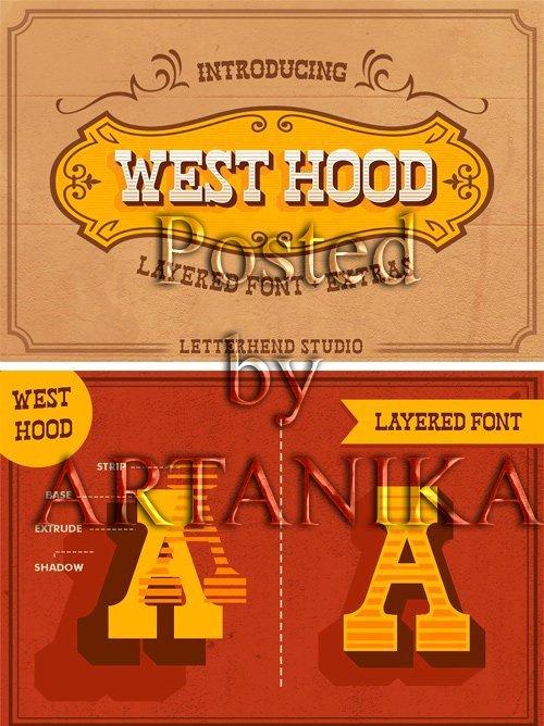 CM - West Hood - 6 FONTS! 2458016