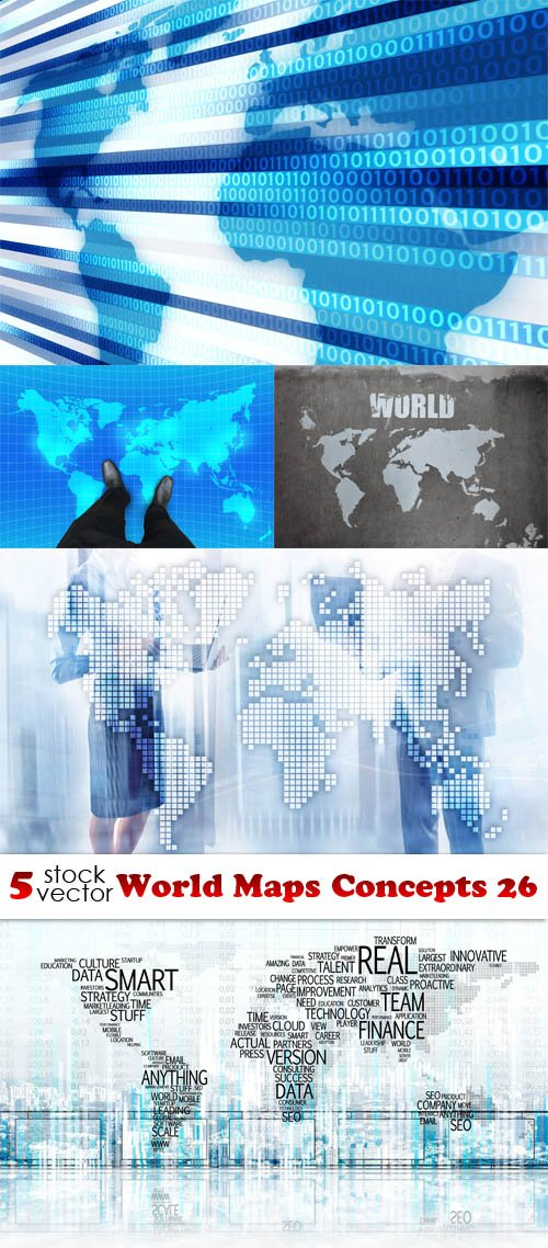 Photos - World Maps Concepts 26