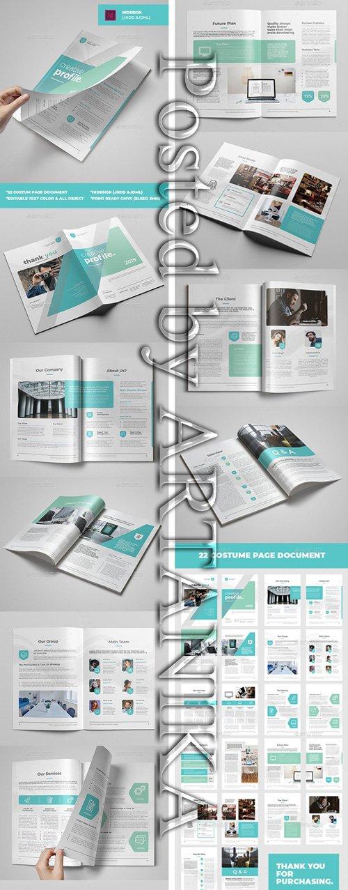 GraphicRiver - Creative Profile Template 23185746