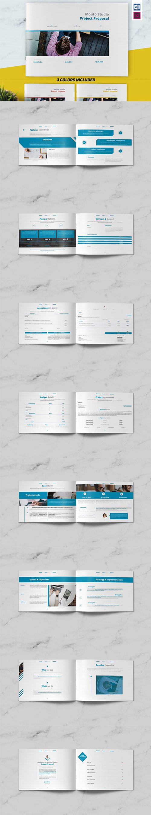 Project Proposal Indesign