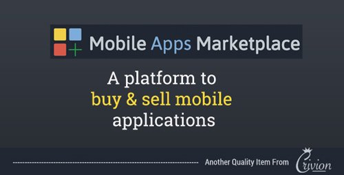 CodeCanyon - PHP Mobile Apps Marketplace Script v1.0 - 22108430