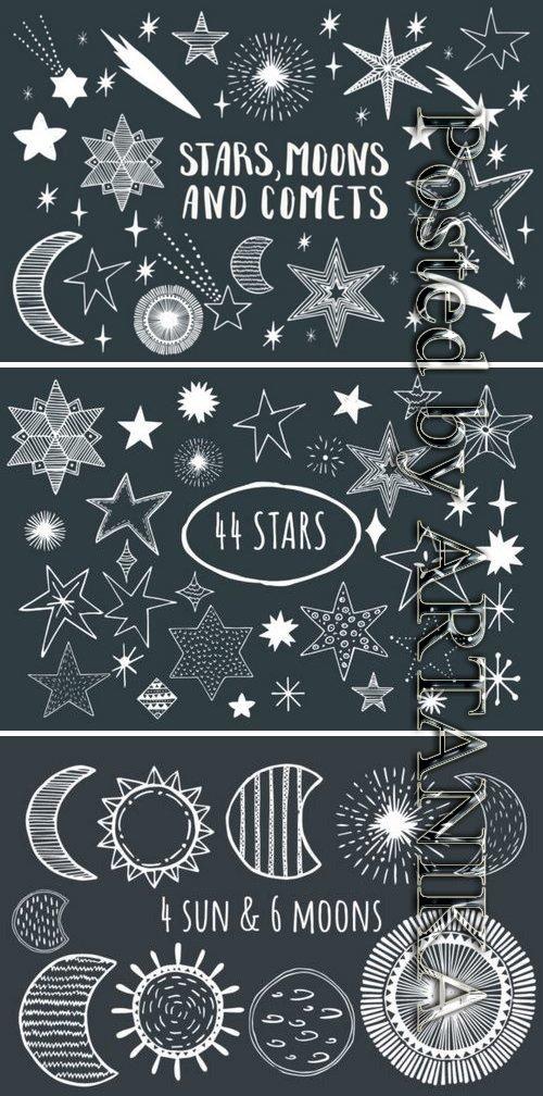 Stars, Moons & Comets