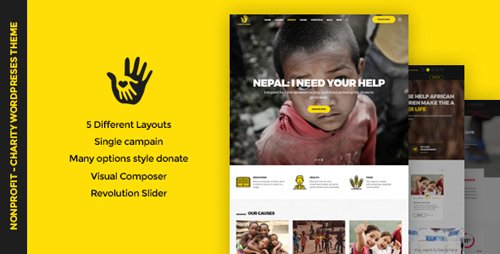 ThemeForest - CharityHeart v1.1 - Charity | Single Charity | Crowdfunding | Nonprofit Responsive WordPress Theme - 20045967