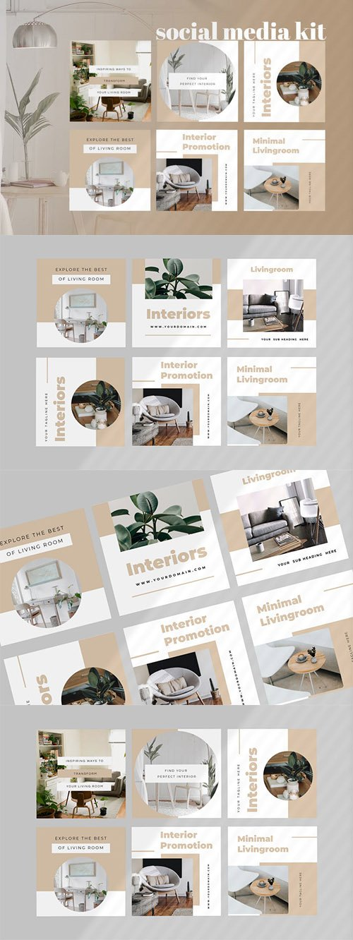 Four - Interior Social Media Kit
