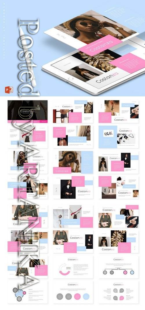 Costanza - Powerpoint, Keynote, Google Sliders Templates