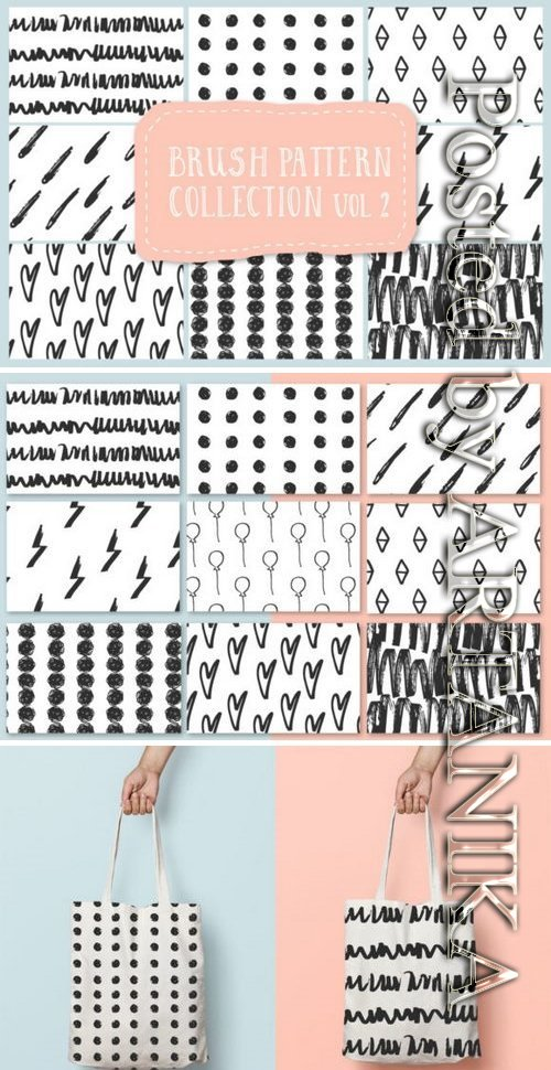 Brush pattern collection