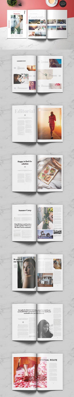Indesign Lifestyle Universal Magazine