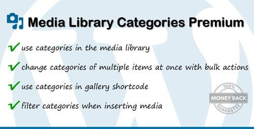 CodeCanyon - Media Library Categories Premium v2.4.2 - 6691290