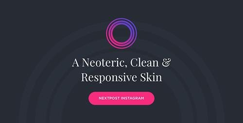 CodeCanyon - Neptune v2.0.1 - Nextpost Instagram Skin - 20966077