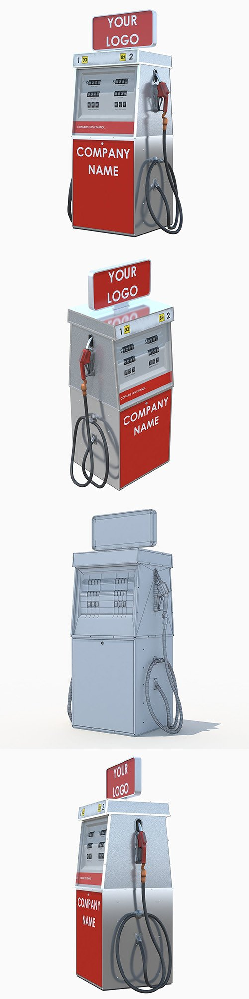 Tunable fuel dispenser 3D model