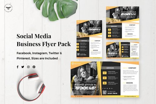 Business Flyer Social Media Template