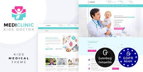 ThemeForest - Pediatrics / Medi Clinic v1.4 - Health, Medical Theme - 20424383